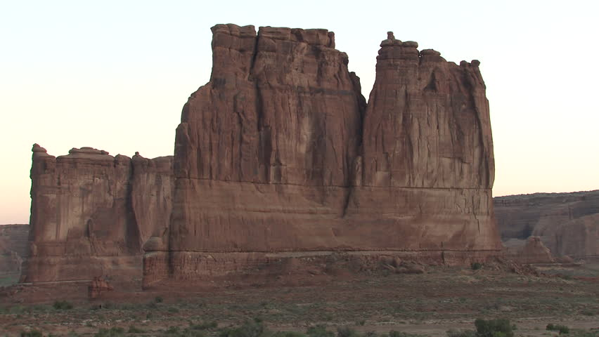 Desert in Spring Rock Outcropping Wall Cliff Geology in Utah   Shutterstock HD Video #1011481382