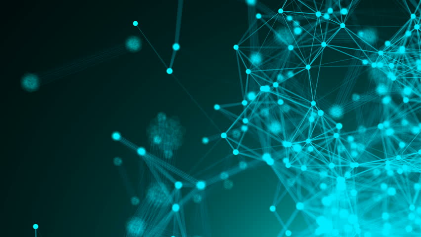 Abstract connection dots. Technology background. Network concept. 3d rendering | Shutterstock HD Video #1011514304