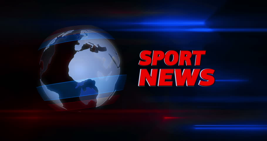 Sport News Broadcasting News Intro Stock Footage Video ...
