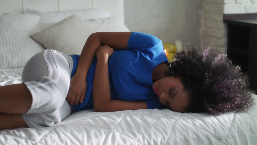 Black Woman Period Pain Stock Video Footage - 4K and HD Video Clips |  Shutterstock