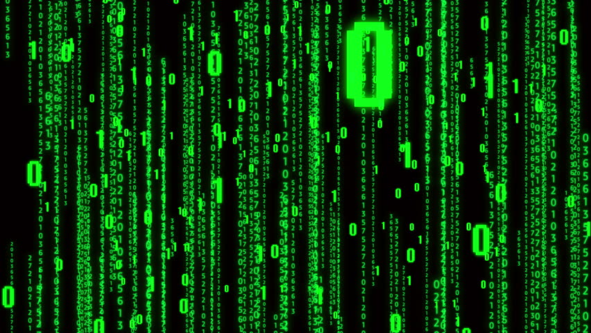 4k The Matrix style binary code,falling number,Seamless loop.abstract future tech background.data digital display.  | Shutterstock HD Video #1011649472