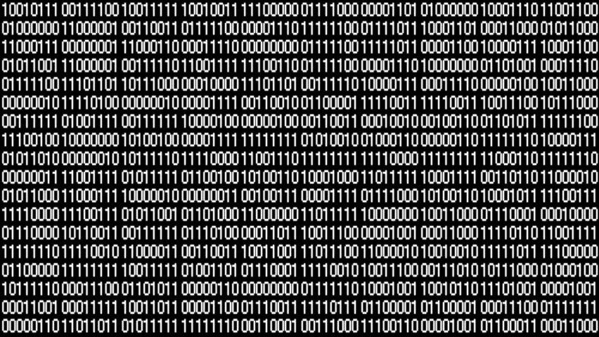 The Matrix style binary code.Seamless loop.data digital display,future tech background.4k    Shutterstock HD Video #1011649478