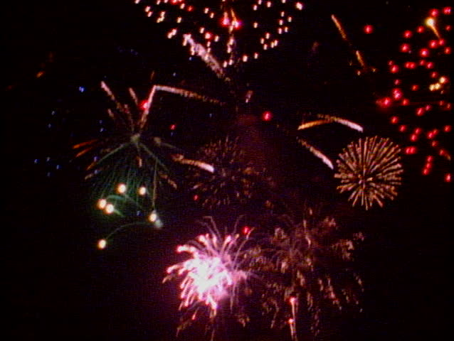 LOS ANGELES, 1999, Fireworks