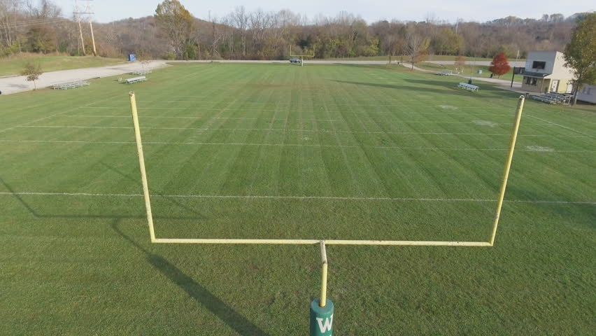 High School Football Field Aerial