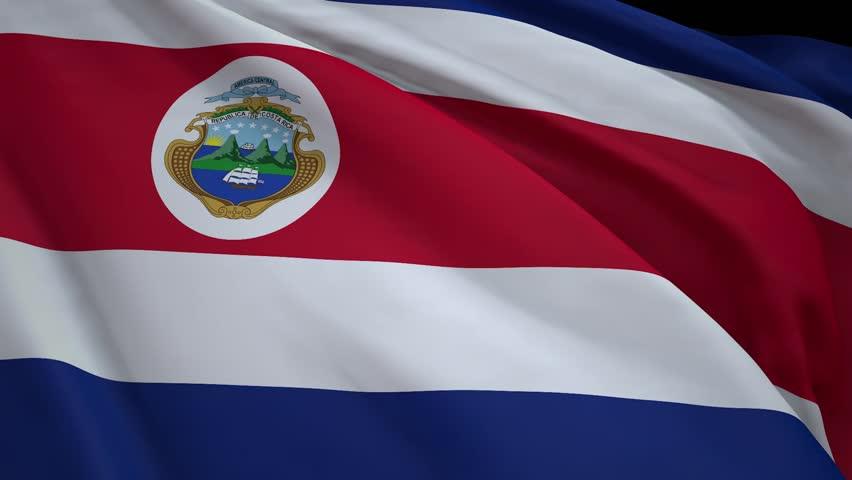Flag of Costa Rica | Shutterstock HD Video #1011685133