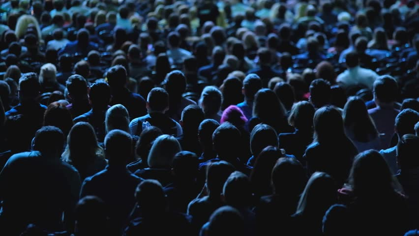 Audience listens to the lecturer at the conference hall | Shutterstock HD Video #1012048343