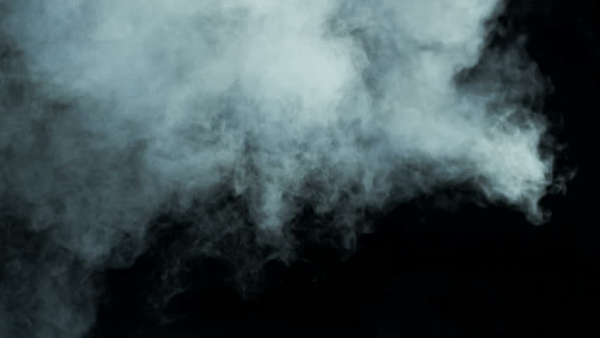 Smoke on a black background - realistic overlay for different projects (Red Epic Shoot) | Shutterstock HD Video #1012056644