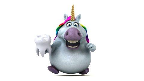 Fun unicorn - 3D Animation