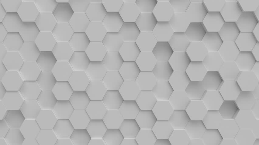 Abstract Hexagon grid seamless loop animation. | Shutterstock HD Video #1012286135