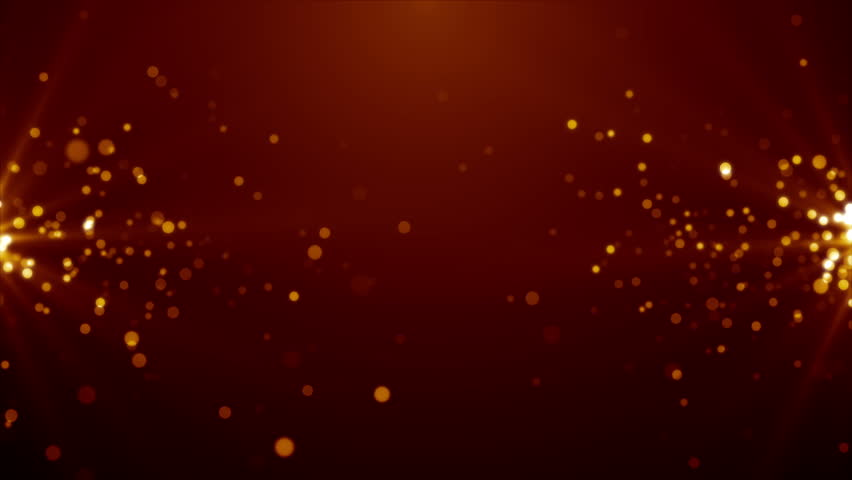 Particles dust bokeh abstract light motion titles cinematic background loop #1012337285