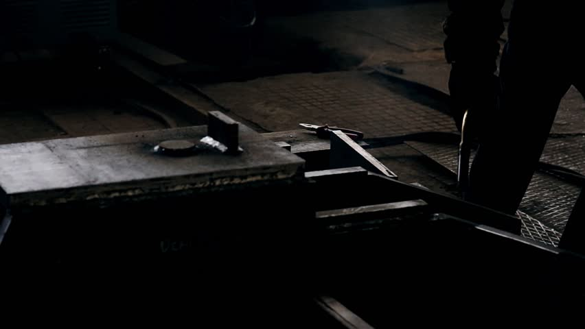 Welder weld metall   Shutterstock HD Video #1012365179