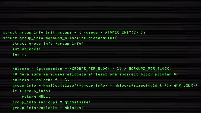 Hacker code running down a computer screen terminal. 4k | Shutterstock HD Video #1012442588