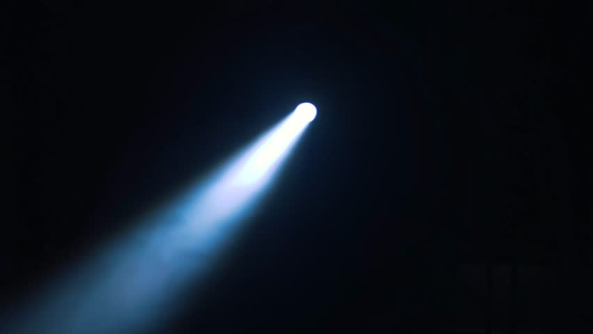 Flashlight beam moving into total darkness. Ray of light pointing to multiple spots finding its way. | Shutterstock HD Video #1012603778