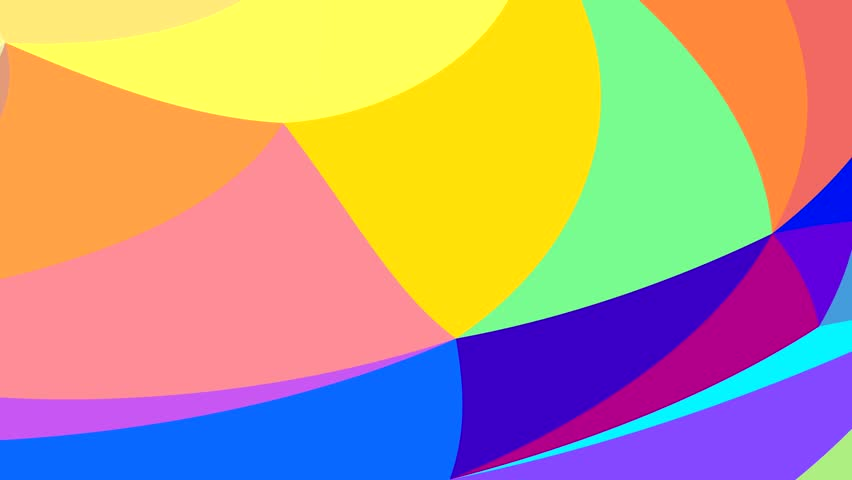 Dance of color patterns on the screen | Shutterstock HD Video #1012740542