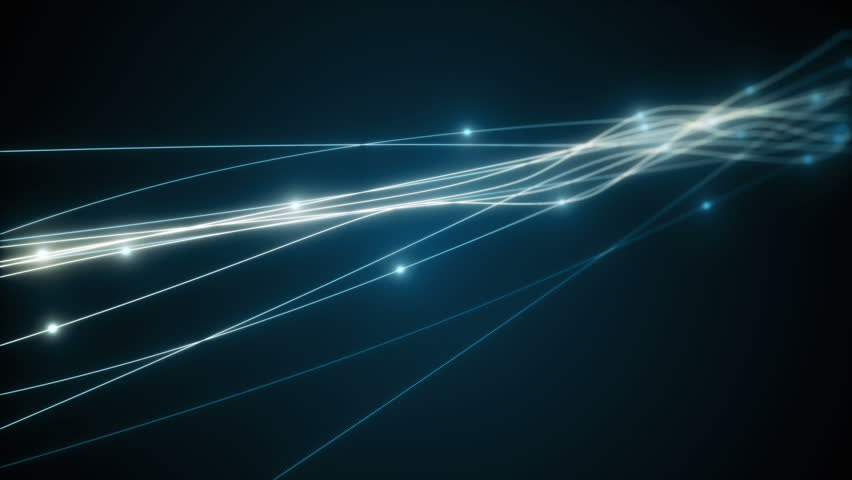 The concept of signal transmission over an optical fiber