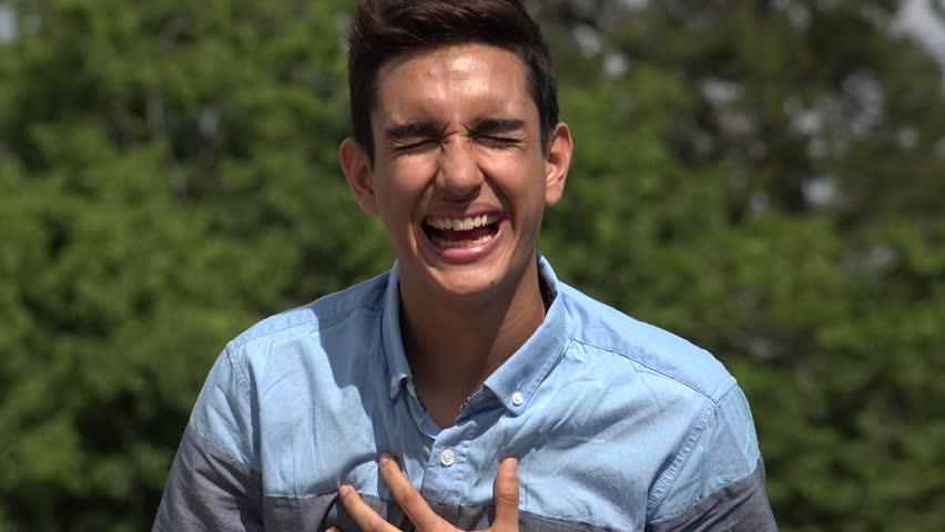 Laughing Male Hispanic Teenager | Shutterstock HD Video #1012777646