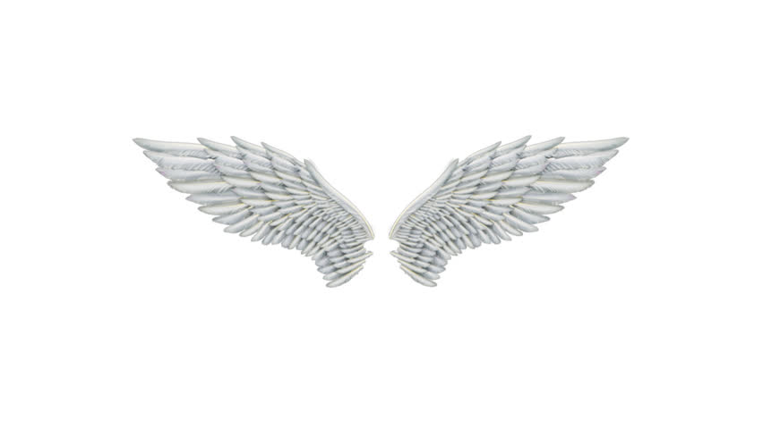 Angel Wings. Alpha channel Included. Looped. Easy to use.
