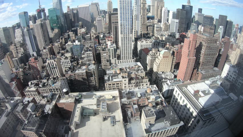 4K timelapse of New York City midtown during summer day | Shutterstock HD Video #1012954682