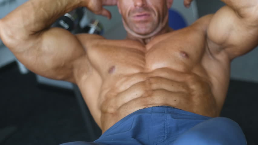 Brutal Strong Bodybuilder Athletic Man Stock Footage Video 100 Royalty Free 1012963769 Shutterstock