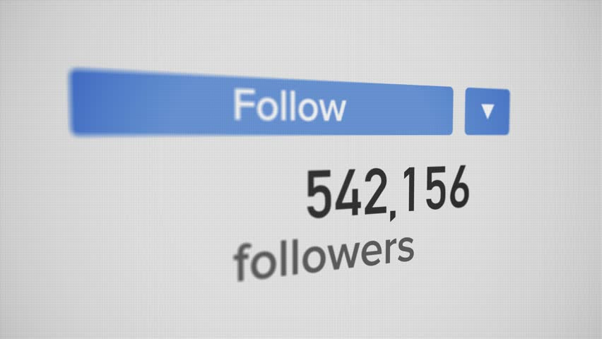 A 3D closeup video counter of an influencer's social media number increasing to 1 billion followers. Perspective version.     Shutterstock HD Video #1013018540