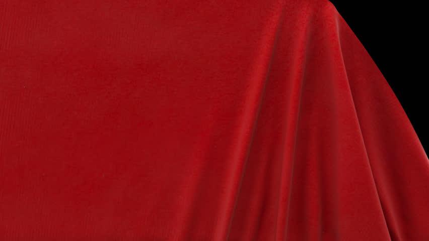Velvet Cloth Transition | Shutterstock HD Video #1013130500