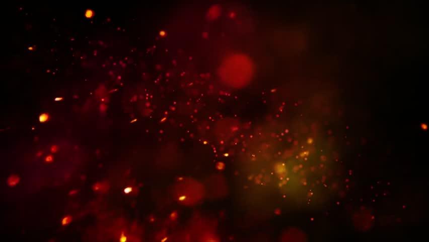 Golden glitter particles background #1013188871