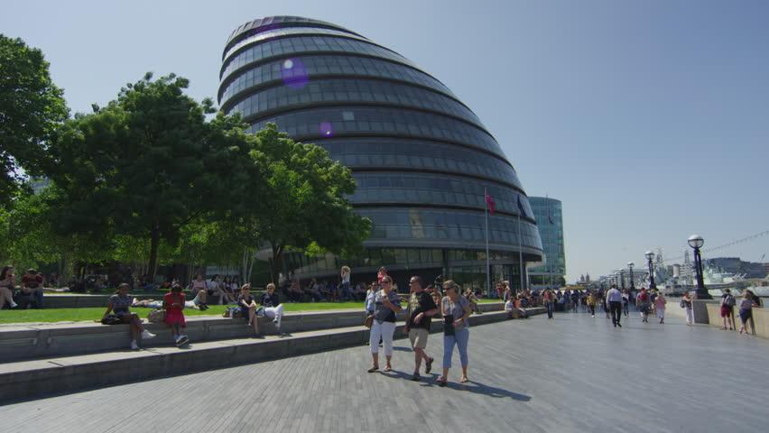 London, United Kingdom - January, 2018: The City Hall of London