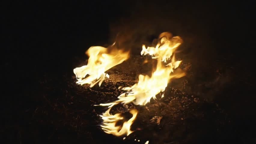 A small fire template with a black background   Shutterstock HD Video #1013199599