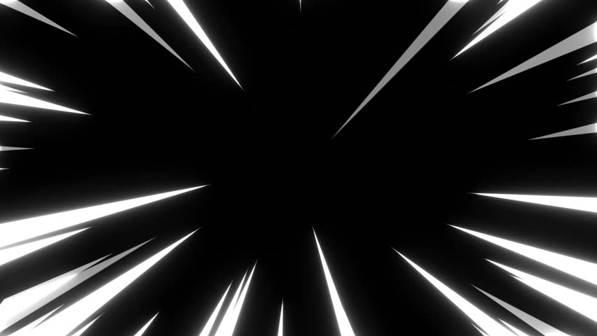 Anime background of Comic speed radial background
