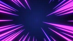 Radial Background of high-speed abstract lines for Anime