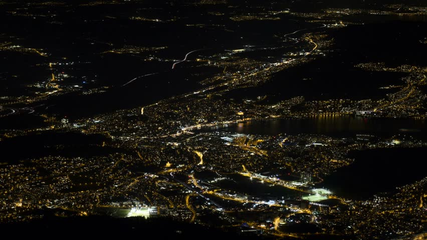 Traffic Lucerne Switzerland at night   Shutterstock HD Video #1013232434