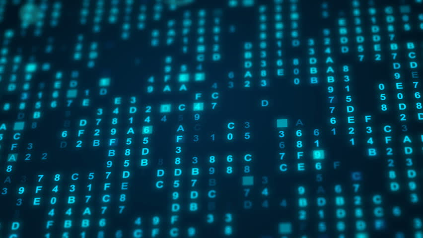 Hexadecimal data loopable background | Shutterstock HD Video #1013301710