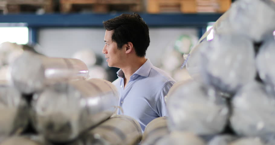 Portrait of manager of a distribution warehouse | Shutterstock HD Video #1013344457