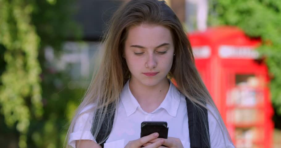 Blonde teen videos Portrait Of Blonde Teen Girl Stock Footage Video 100 Royalty Free 1013402411 Shutterstock
