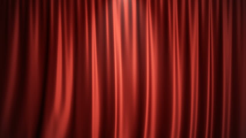 3D rendering animation open and close luxure red silk, curtain decoration design. Red Stage Curtain for theater or opera scene backdrop. Mock-up for your design project | Shutterstock HD Video #1013528774