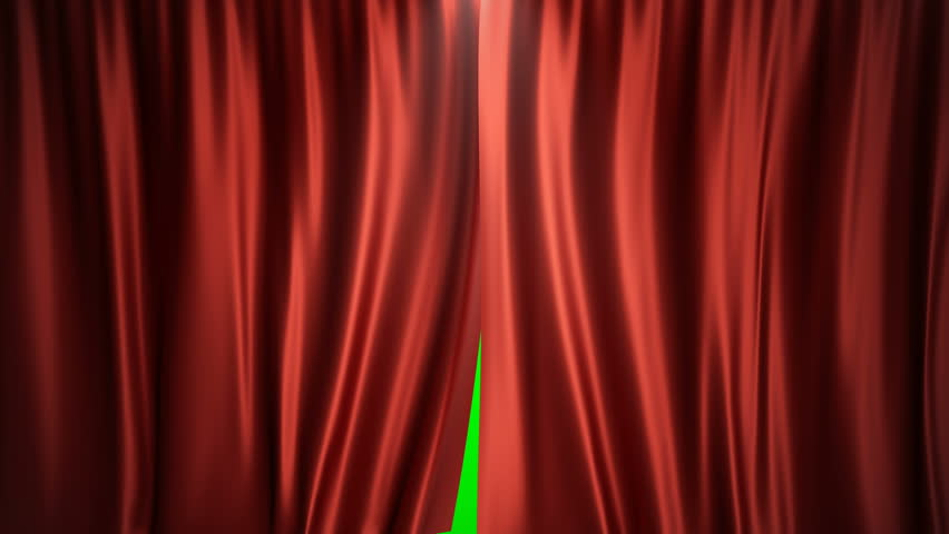 3D rendering animation open and close luxure red silk, curtain decoration design. Red Stage Curtain for theater or opera scene backdrop. Mock-up for your design project | Shutterstock HD Video #1013528780