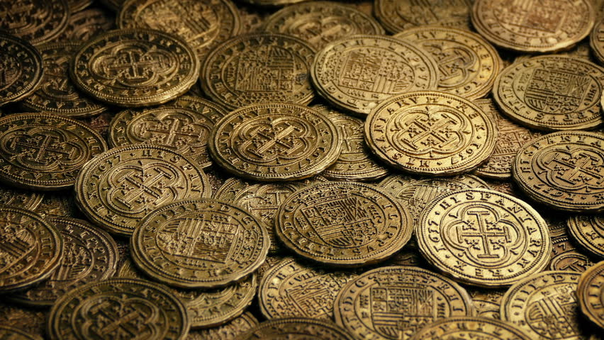 Gold Doubloons Pile Rotating Stock Footage Video (100% Royalty-free) 1013541050 | Shutterstock