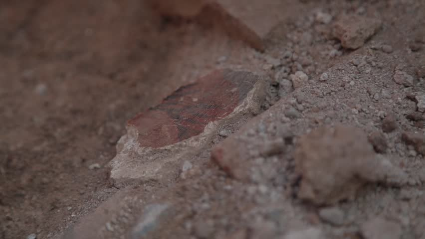 Archaeologists excavating in the ancient city of Komana. Tokat,Turkey 31.09.2013  | Shutterstock HD Video #1013582294