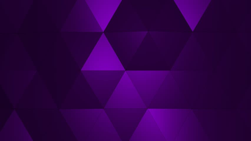 Loopable Abstract Purple Low Poly 3D surface as CG background. Soft Polygonal Geometric Low Poly motion background of shifting Red Orange polygons. 4K Fullhd seamless loop background render V1 | Shutterstock HD Video #1013590307