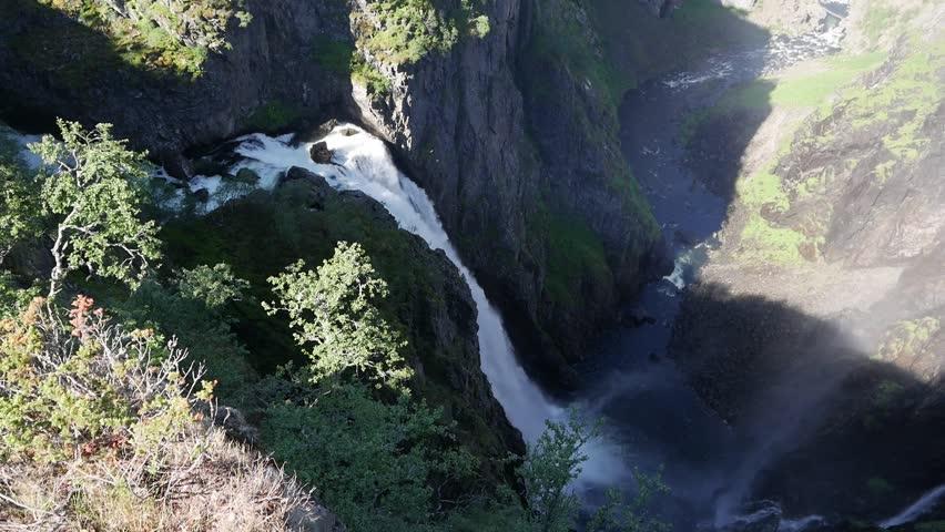 Waterfall Voringfossen, Eidfjord Norway #1013610863