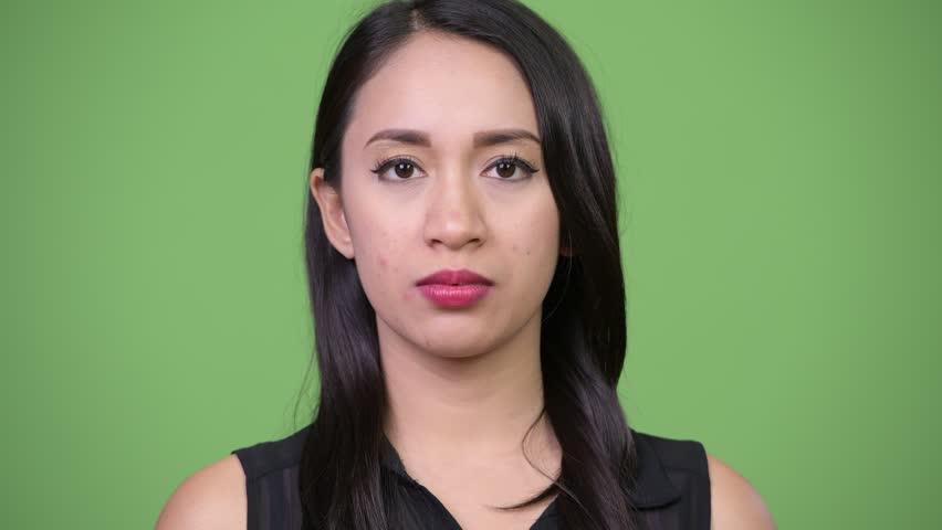 Young beautiful Asian businesswoman relaxing | Shutterstock HD Video #1013619410