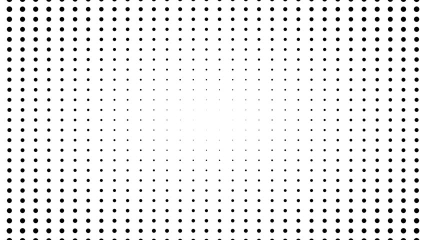 Half tone of many dots, computer generated abstract background, 3D rendering backdrop | Shutterstock HD Video #1013681729