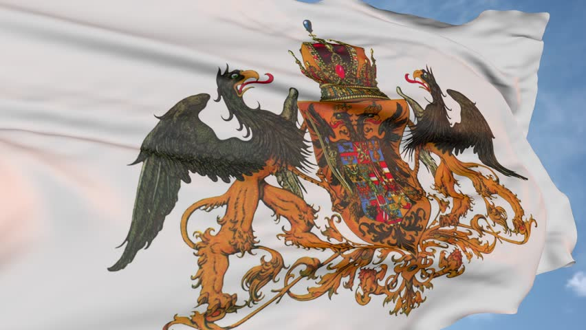 Eagle is the flag of Austria Hungary of the past. state symbol logo #1013839757