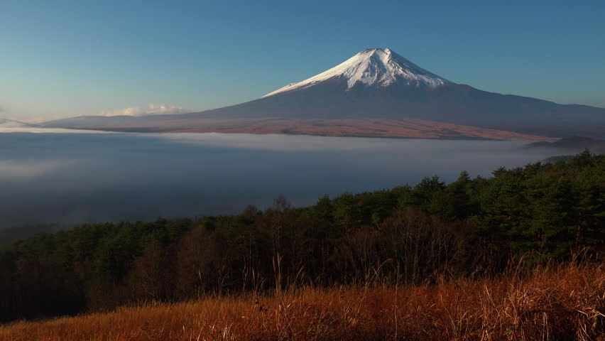 Sea ??of ??clouds with mt.fuji | Shutterstock HD Video #1013847143