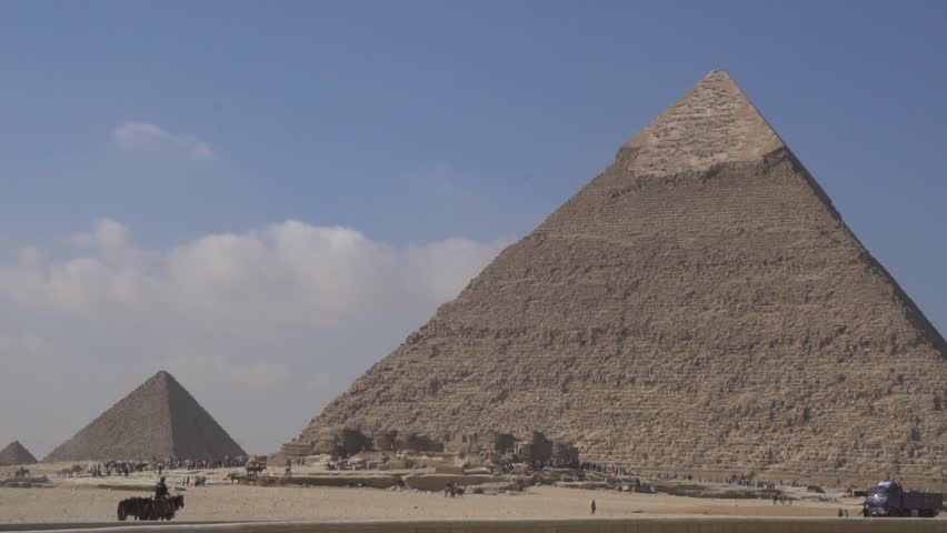 Pyramids Egypt Giseh | Shutterstock HD Video #1013851937