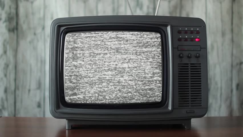 Channel switching on the vintage TV, close up | Shutterstock HD Video #1013914832