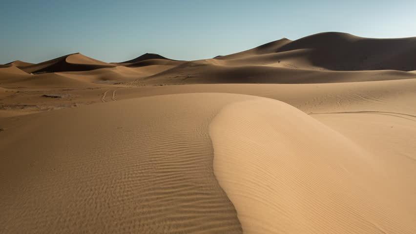 The amazing Erg chebbi dunes in the sahara desert, morocco | Shutterstock HD Video #10140002