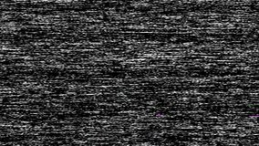 VHS TV Noise Footage, black and white, real analog vintage signal with bad interference, static noise background, overlay ready