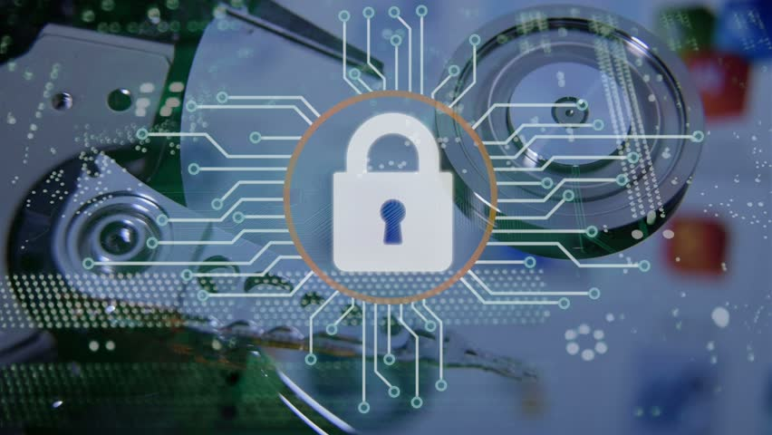 Cyber security concept. Royalty-Free Stock Footage #1014129005