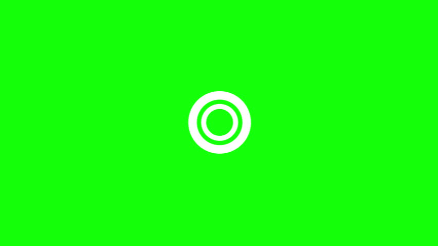Set of 8 Explosive Accent Elements for Motion Graphics on a Green Background | Shutterstock HD Video #1014245168